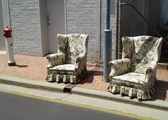 the alfresco lounge (lowlifeSA) Tags: adelaide southaustralia adelaidecity adelaidecbd architecture buildings urban adelaidephotoblog southernhemisphere citystreet emptychairs outdoorlounge