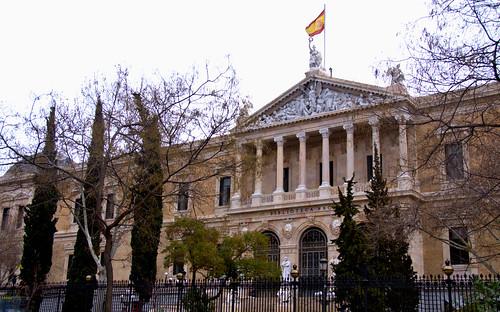 BIBLIOTECA NACIONAL MADRID 8885 10-2-2019