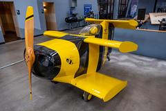 Starr Bumble Bee (Serendigity) Tags: arizona bumblebee pimaairspacemuseum starr tucson usa unitedstates aircraft aviation biplane hangar indoors museum unitedstatesofamerica