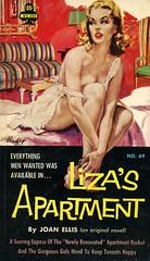 Midwood Books 69 - Joan Ellis - Liza's Apartment (swallace99) Tags: midwood vintage 60s sleaze paperback paulrader