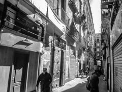 El Raval de Barcelona (efe Marimon) Tags: canonpowershots120 felixmarimon barcelona elraval bn elravaldebarcelona