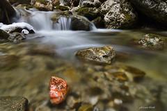 Red Nugget (PhotonenBlende) Tags: stream flowingwater creek rock rocky cascade falls waterfall water rocks longexposure scenic allgäu alps klamm reichenbachklamm waterscape landscape outdoors stones