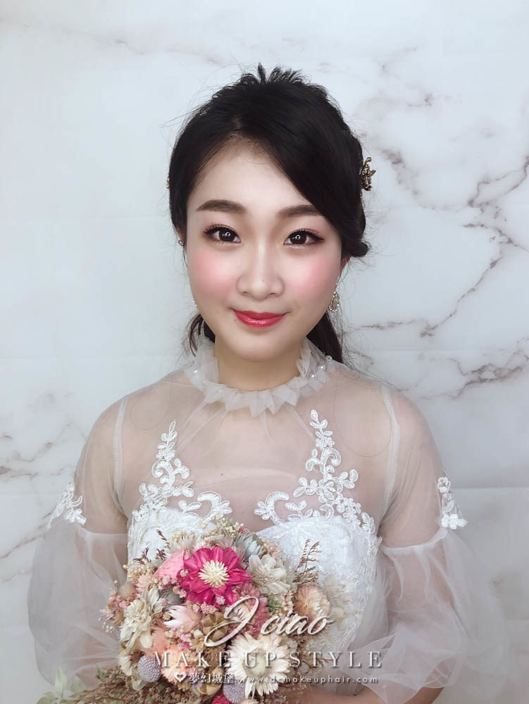 【新秘婕喬】新娘造型創作 / 氣質編織造型