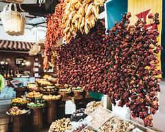 Funchal   |   Chillies (JB_1984) Tags: chilli chillies mercadodoslavradores farmersmarket market mercado food fruit vegetables produce colour marketstall funchal madeira portugal sony rx100iii rx100m3