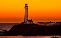 The Beacon (philipleemiller) Tags: pacificcoast california d800 sunset lighthouse explore l ll