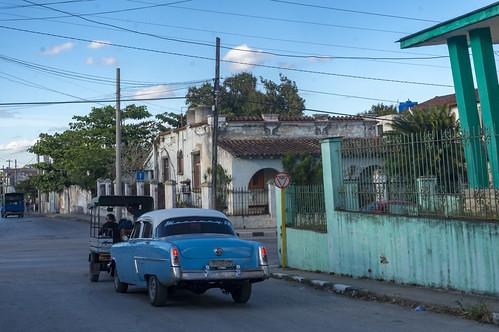 Streets of Vigía Sur district in Santa Clara, Cuba.