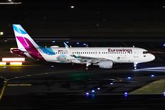 D-AEWK Eurowings Airbus A320-214 (buchroeder.paul) Tags: dus eddl dusseldorf international airport germany europe ground night daewk eurowings airbus a320214