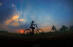 Just Enjoy The Ride..❤️📷 .. Evening is a time of real experimentation, You never want to look the same way..❤️ .. #stepfor7world #hekolhapurahe #indiancolours #nationalgeographic #nationalgeographic_ #travel #travelphotography #sunset # (samphotography07) Tags: colour naturephotography viewbug gopro traveller nature photoshop stepfor7world naturelovers beautifuldestinations sunset goprolife riding editor cycling sunsetlovers onedaytrip photography travelphotography hekolhapurahe village indiancolours goprohero6 goproclick viewbugfeature nationalgeographic sunsetphotography traveler travel