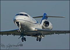T7-AIR Bombardier Challenger  650 c/n 6069 Avcon Jet (Farnborough-EGLF) 15/02/2019 (Ken Lipscombe <> Photography) Tags: t7air bombardier challenger 650 cn 6069 avcon jet farnborougheglf 15022019 farnboroughairporticaoeglfbizjetsaviationflyingtag