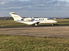 Cessna 525 9H-ALL at Biggin Hill 20 Feb 2019 (liftermac) Tags: bigginhill global challenger cessna525