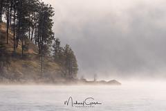Higgins Point (NikonDigifan) Tags: lakecoeurdalene higginspoint misty fog idaho pnw pacificnorthwest nikond500 nikon20050056 nikon mikegassphotography
