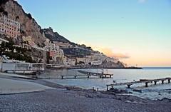 Tramonto amalfitano (Meteoraaaa) Tags: amalfi costiera campania mare cielo tramonto