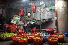 Fruit Market – 1 (Roy Prasad) Tags: blue vietnam hanoi travel asia fruit vegetable market prasad royprasad sony a7r a7rm3