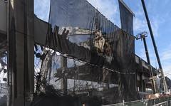 Viaduct demolition netting (WSDOT) Tags: seattle gp construction wsdot alaskan way viaduct replacement demolition 2019