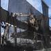 Viaduct demolition netting