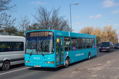 Arriva CX07CPU (Mike McNiven) Tags: arriva northwest wright commander baguley wythenshawe hospital interchange southmoorroad altrincham newlivery vdlbus sb200 vdl sale salemoor northernmoor broadheath ashton ashtononmersey mersey sunny sun blue bluesky sky tree road pavement