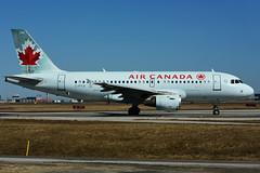 C-FYJI (Air Canada) (Steelhead 2010) Tags: aircanada airbus a319 a319100 yyz creg cfyji