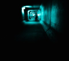 See you on the other side (LAKAN346) Tags: light tunnel lineofsight pov vanishingpoint alone somber