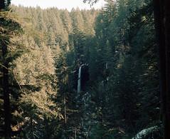 Silver Falls, North Falls (Kent C.) Tags: mediumformatfilm epsonv600scanner kodakportra160 6x7 mamiyarb67pros 120film mediumformat oregon