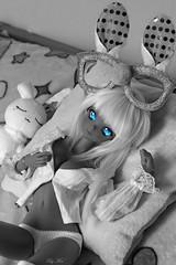Lya ♥ (Mei') Tags: smartdoll smart doll smartdollsummer dannychoo danny choo culturejapan culture japan sexy soft blueeyes blue eyes manga kawaii rabbit dollfie bjd asiantoy asian toy