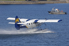 C-FITF, DHC3T Turbine Otter, Harbour Air, Vancouver (ColinParker777) Tags: dehavilland otter float plane floats seaplane aircraft airliner aviation fly flying airplane aeroplane amphibious amphibian harbour air canada vancouver cxh cyhc harbor aerodrome water sea ocean reflection approach flight canon 5dsr 5ds 100400 lens zoom telephoto pro mk2 mkii spotting planespotting vazar turbine cfitf dhc3t dhc3 takeoff departure splash 303