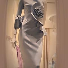 Abito (Aellevì) Tags: donna manichino spirale chiaraboni vetrina