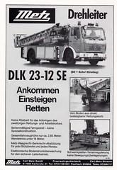 Metz Drehleiter DLK 23-12 SE (adelaidefire) Tags: metz drehleiter dlk 2312 se