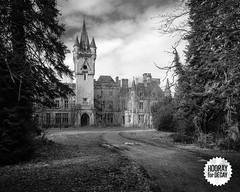 Abandoned chateau Noisy (Ardennes, Belgium) (Vincent Jansen (www.hoorayfordecay.com)) Tags: noisy castle chateau urbex abandoned belgium tower miranda landscapephotography forest landscape urbanexploration abandon moveaway cloudy heaven ruins clock school nature forsake clouds leave movedaway sky landscapephoto house dirty ghost dark brick mansion architecture ardennes horror grunge gothic historic wallpaper aged stone exploring rotten collapsed celles unused old de bizarre rural decay building manor scary fear past deserted tree ancient spooky fortress haunted mystery background vintage urban