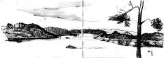 Balmain East (panda1.grafix) Tags: balmain sydneyharbour inksketch