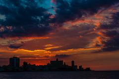 Sunset over the Malecon, Havana , Cuba (dwb838) Tags: urbanlandscape sunset havana malecon