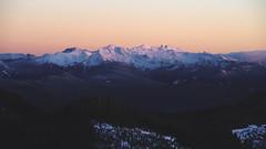 snow covered (ashtenphoto) Tags: mountains peaks peak sunset climbing mt rainier national park high rock lookout alpenglow