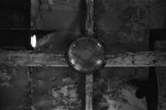 The factory Sun (Analog World Thru My Lenses) Tags: nikonfa sigma2470mmf28 ilforddelta400 february 2018 pionki factory industry forgotten abandoned urbex blackandwhite blackeyssupergrainfilm bw film analog 35mm