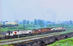LV 640                             7-72 (C E Turley) Tags: trains railroads railways lehighvalley lv alco c628