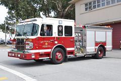 San Francisco Fire Department. Engine 19. (RJACBclan) Tags: sanfranciscofiredepartment fireengine firetruck station19 engine19