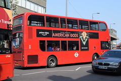 SL 10199 @ Station Parade, Barking (ianjpoole) Tags: stagecoach london alexander dennis enviro 400h sl64hyy 10199 working route 287 abbey wood lane rainham barking train station