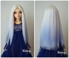 "Alpaca wig for MNF ""Elfen Lied"". (sonya_wig) Tags: fairytreewigs wig bjdwig minifeewig bjd bjdminifee minifeechloe handmadedoll bjddoll dollphoto fairyland fairylandminifee minifee chloe bjdphotographycoloringhair"