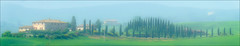 Tuscany Hills (kate willmer) Tags: house trees building fields green landscape tuscany italy