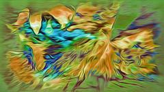 (K)AnalArt_47 welke Blätter umschließen einen Kälteeinbruch (wos---art) Tags: bildschichten kanal art three communication kommunikation flowers blumen tulpen rosen farbkomposition sakrale räume