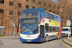 Still wearing Peterborough Citi branding Stagecoach Cambus ADL Enviro 400 19702 AE60JSV in Bedford (Mark Bowerbank) Tags: still wearing peterborough citi branding stagecoach cambus adl enviro 400 19702 ae60jsv bedford