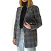 ELENA: Acne Studios wool checked blazer, Chanel quilted lambskin bag