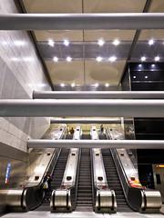 Victoria - Underground (Dancing Fish) Tags: february 2019 victoria station london underground architechture escalator