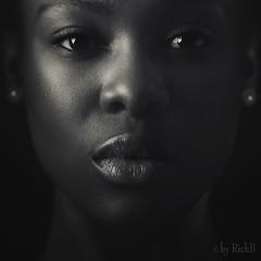 True (RickB500) Tags: portrait girl rickb rickb500 model beauty expression face cute hair ebony true spandauballet