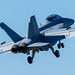 400mm LOOK AT EA-18G MAKING A BREAK TO CROSSWIND LEG OF ZE FCLP PATTERN
