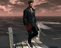 This Old Coat... (AW02) Tags: sl secondlife photography portrait sea ocean pose mesh male avi feelings emotions gabriel