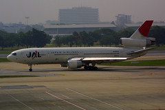 JA8542 McDonnell Douglas DC-10-40 of Japan Airlines (johnyates2011) Tags: bangkok bangkokairport bangkokdonmuang bangkokdonmuangairport donmuang donmuangairport dc10 japanairlines ja8542 mcdonnelldouglas mcdonnelldouglasdc10