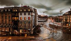 Rainy Evening (helbldan) Tags: cityscape longexposure rain city zurich switzerland nikon nikond750 nikon20mm