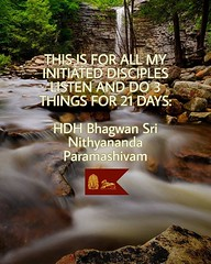 Reposted from @nithyanandaswami - THIS IS FOR ALL MY INITIATED DISCIPLES .LISTEN AND DO 3 THINGS FOR 21 DAYS:- 1.STOP EATING JUST LIVE BY DRINKING FRUIT JUICES AND HERBAL JUICES, CHANT MAHA VAAKYA OM NITHYANANDA PARAMASHIVOHAM INTERNALLY CONTINUOUSLY(ajap (sri.sadyojata) Tags: enlightenment consciousness awakening integrity responsibility enriching authenticity transformation yoga meditation