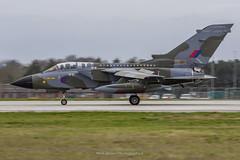 RAF Tornado GR.4 ZG752 FINal Landing (Mark_Aviation) Tags: raf tornado gr4 zg752 final landing marham enthusiast day march 2019 gr4t pa200 aircraft farewelltornado farewell special scheme paint jet fast loud bomber fighter