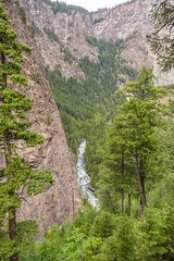 Deep Down in the Canyon (MIKOFOX ⌘ Check Out My Albums) Tags: canada showyourexif xt2 water forest canyon learnfromexif july rocks landscape provia creek fujifilmxt2 mikofox summer britishcolumbia xf18135mmf3556rlmoiswr