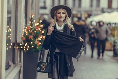 Renata (Vagelis Pikoulas) Tags: woman women girl girls portrait canon 6d sigma art 85mm f14 bokeh light lights krakow poland europe travel photography photoshoot street november autumn 2018